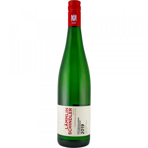 Weißburgunder & Chardonnay 2019, VDP. ORTSWEIN, 86 Pt. SILBER int. bioweinpreis - Lämmlin-Schindler